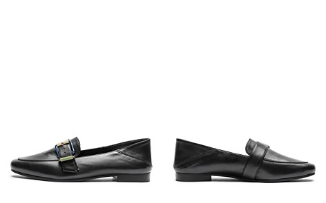 Zadig & Voltaire Women's Happy Metal Almond Toe Leather Loafers - Bloomingdale's_2