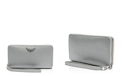 Zadig & Voltaire Compagnon Medium Leather Wallet - Bloomingdale's_2