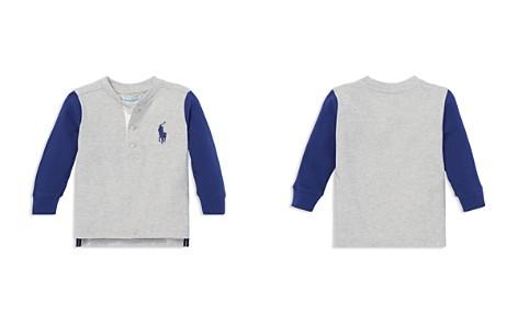 Ralph Lauren Boys' Cotton Mesh Henley Shirt - Baby - Bloomingdale's_2