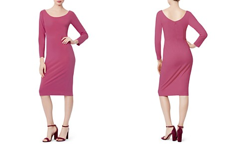 Betsey Johnson Scuba Crepe Body-Con Dress - Bloomingdale's_2