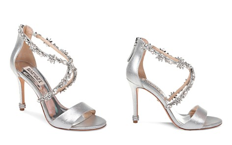 Badgley Mischka Women's Venus II Open Toe Leather High-Heel Sandals - Bloomingdale's_2