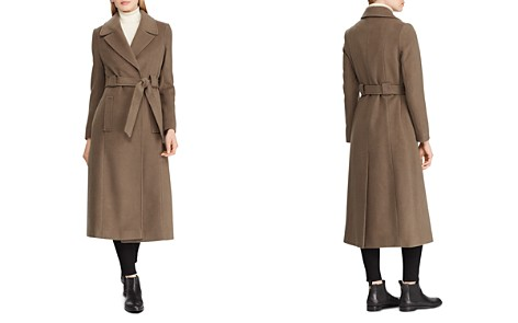 Lauren Ralph Lauren Belted Maxi Wrap Coat - Bloomingdale's_2