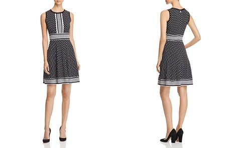 MICHAEL Michael Kors Simple Dot Fit-and-Flare Dress - Bloomingdale's_2