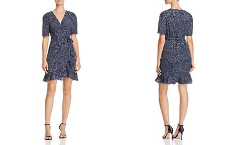 AQUA Leopard Print Wrap Dress - 100% Exclusive - Bloomingdale's_2