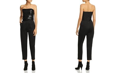 Alice + Olivia Jeri Embellished Strapless Jumpsuit - Bloomingdale's_2