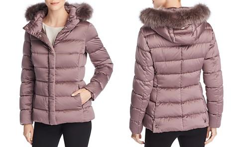 Herno Bonbon Fur Trim Slim Fit Down Coat - Bloomingdale's_2