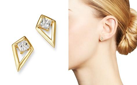 Bloomingdale's Diamond Kite Stud Earrings in 14K Yellow Gold, 0.20 ct. t.w. - 100% Exclusive_2
