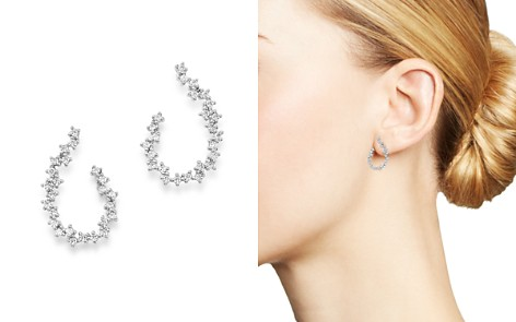 Bloomingdale's Diamond Front-Back Earrings in 14K White Gold, 0.50 ct. t.w. - 100% Exclusive_2