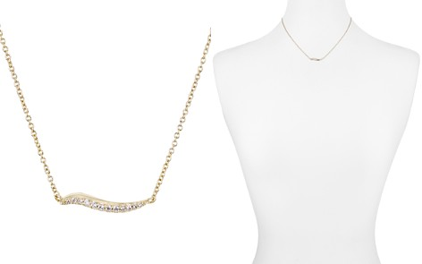 "Kendra Scott Jagger Pavé Wavy Bar Necklace, 16"" - Bloomingdale's_2"