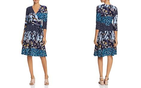 Leota Mixed Print Faux-Wrap Dress - Bloomingdale's_2
