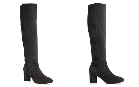 Women's Eloise 75 Almond Toe Suede Boots - Bloomingdale's_2