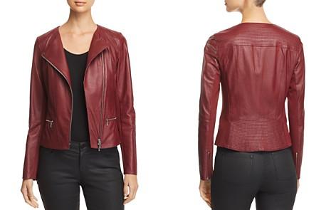 Lafayette 148 New York Trista Leather Moto Jacket - Bloomingdale's_2