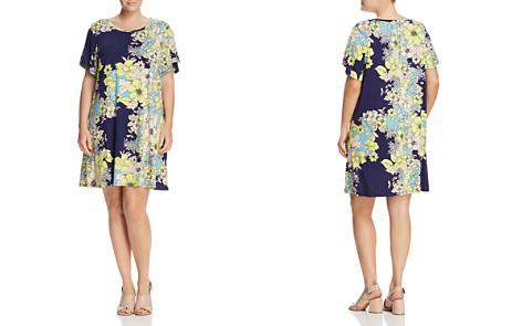 Cupio Plus Bell Sleeve Floral Dress - Bloomingdale's_2