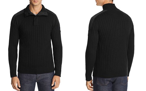 Canada Goose Mixed-Media Ribbed Pullover Sweater - Bloomingdale's_2