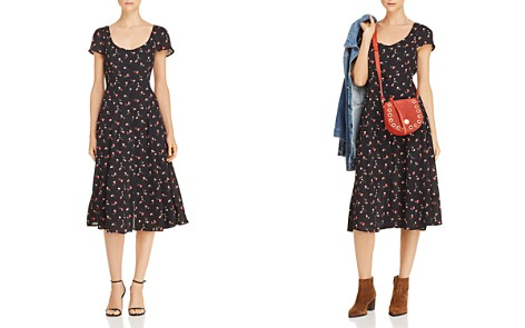 Lost + Wander Floral Button-Front Midi Dress - Bloomingdale's_2