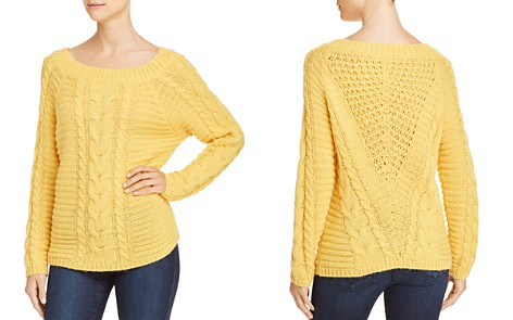 Rebecca Minkoff Juna Cable-Knit Sweater - Bloomingdale's_2