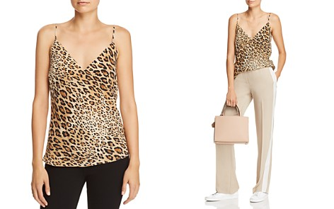 FRAME Leopard Print Silk Camisole - Bloomingdale's_2