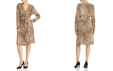 FRAME Sgt. Pepper Leopard Print Silk Dress - Bloomingdale's_2