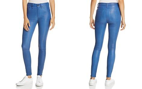 rag & bone/JEAN High-Rise Leather Skinny Pants - Bloomingdale's_2