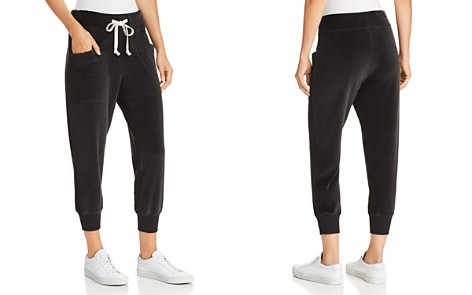 Wilt Velour Cropped Patch-Pocket Joggers - Bloomingdale's_2