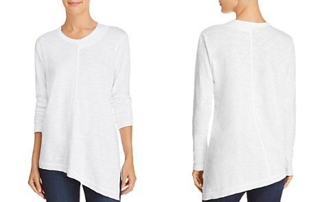 Wilt Long-Sleeve Asymmetric Cotton Tee - Bloomingdale's_2