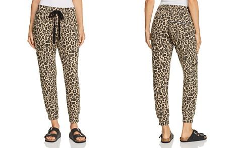 LNA Brushed Leopard Print Sweatpants - Bloomingdale's_2