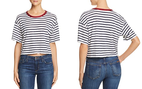 Splendid Venice Striped Cropped Tee - Bloomingdale's_2