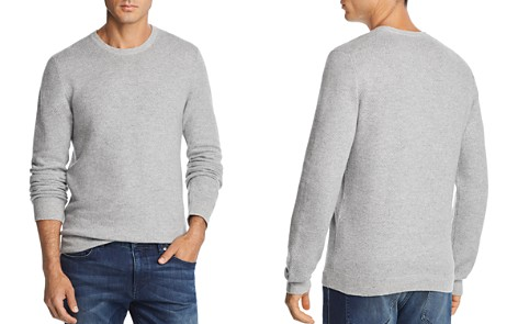 The Men's Store at Bloomingdale's Tonal Variegated Crewneck Sweater - 100% Exclusive_2