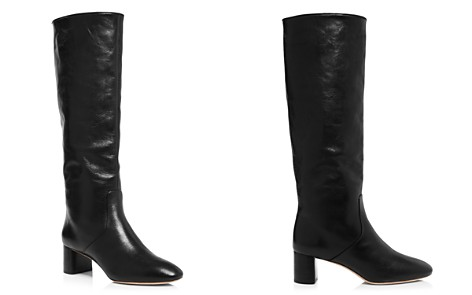 Loeffler Randall Women's Gia Pointed-Toe Knee-High Leather Mid-Heel Boots - Bloomingdale's_2