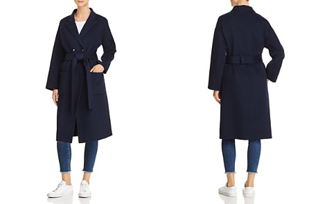 Anine Bing Dylan Wool & Cashmere Trench Coat - Bloomingdale's_2
