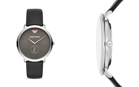Emporio Armani Textured Dial & Single Sub-Dial Watch, 42mm - Bloomingdale's_2
