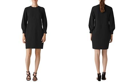 Whistles Tihara Textured Dress - Bloomingdale's_2