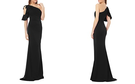 Carmen Marc Valvo Infusion One-Shoulder Gown - Bloomingdale's_2
