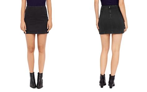 Free People Modern Femme Denim Mini Skirt - Bloomingdale's_2