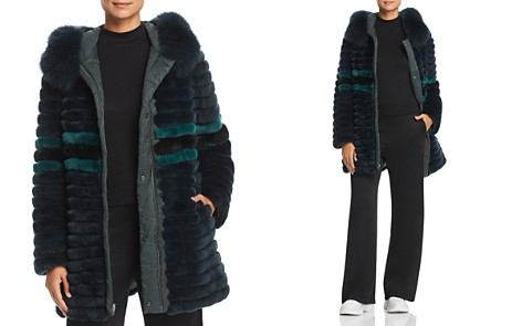 Maximilian Furs Reversible Rabbit Fur & Down Coat - 100% Exclusive - Bloomingdale's_2