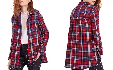 Free People Magical Plaid Shirt - Bloomingdale's_2