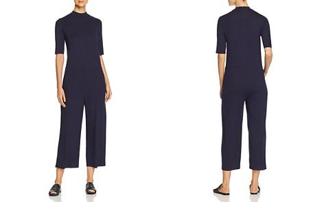 Eileen Fisher Short-Sleeve Cropped Jumpsuit - Bloomingdale's_2