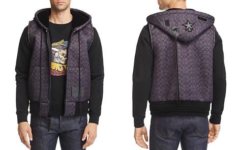 COACH Signature Neoprene Hooded Vest - Bloomingdale's_2