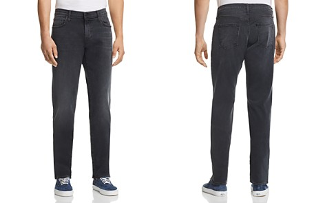J Brand Kane Straight Slim Fit Jeans in Kurrat - Bloomingdale's_2