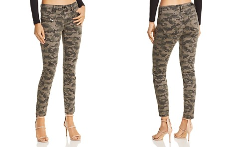 BLANKNYC High-Rise Camo Skinny Jeans in Squadron - 100% Exclusive - Bloomingdale's_2