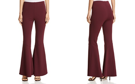 VINCE CAMUTO Flared Knit Pants - 100% Exclusive - Bloomingdale's_2