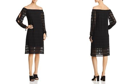 MICHAEL Michael Kors Lace Off-the-Shoulder Dress - Bloomingdale's_2