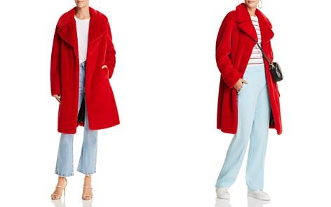 AQUA LUXE Capsule Faux Fur Coat - 100% Exclusive - Bloomingdale's_2