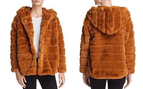 Apparis Goldie Banded Hooded Faux-Fur Coat - Bloomingdale's_2