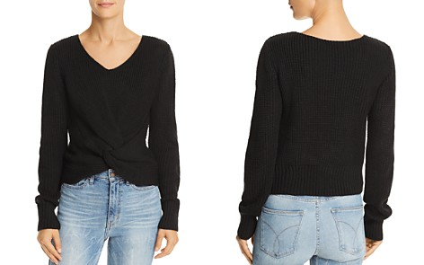 Sage the Label Hold You Close Twist-Front Sweater - Bloomingdale's_2