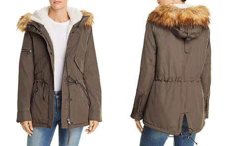 AQUA Faux Fur Detail Parka - 100% Exclusive - Bloomingdale's_2