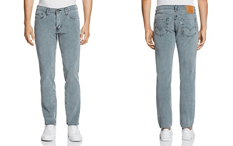 Levi's 511 Slim Fit Corduroy Pants in Mineral Black - 100% Exclusive - Bloomingdale's_2
