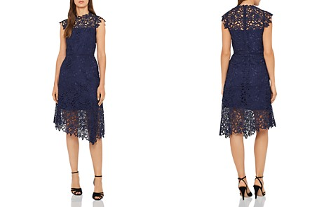 REISS Ivana Asymmetric Lace Dress - 100% Exclusive - Bloomingdale's_2