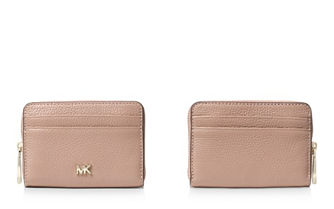 MICHAEL Michael Kors Money Pieces Small Zip-Around Coin Card Case - Bloomingdale's_2