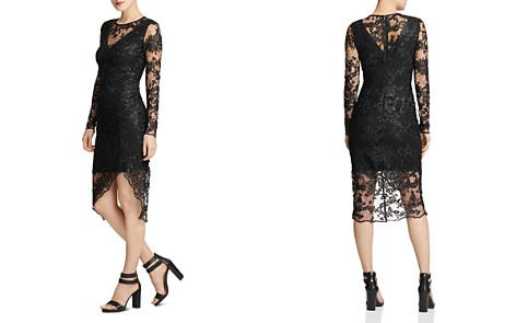 Donna Karan Embroidered Lace Illusion Sheath Dress - Bloomingdale's_2